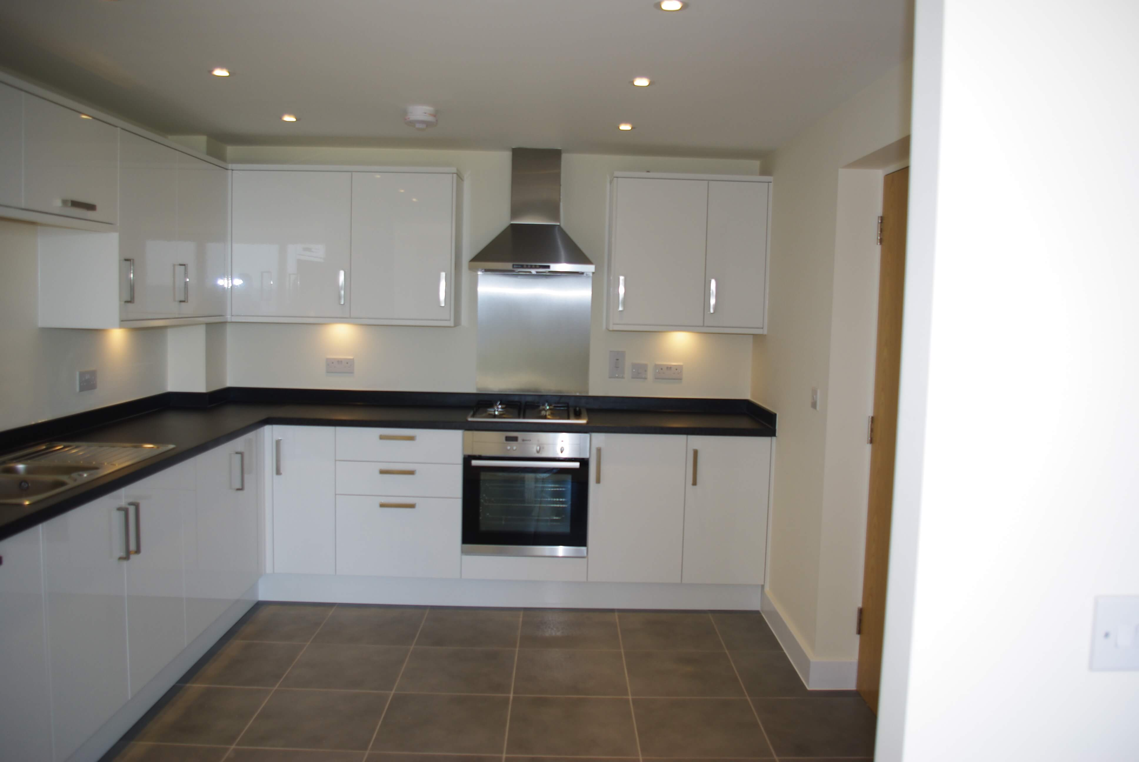 Another example of one of our new build kitchens